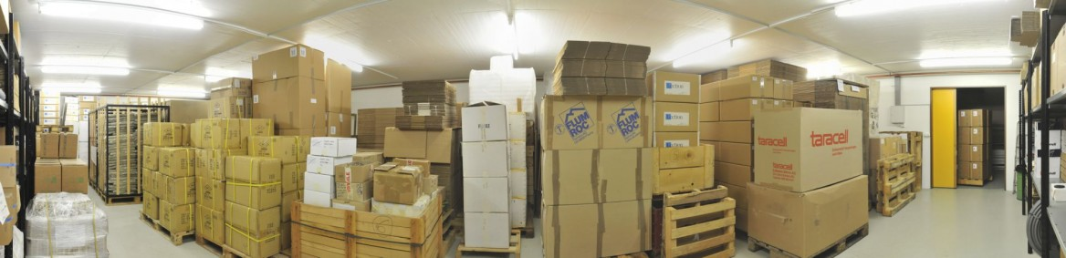 Entrepôt pour le stockage volumineux sur palettes des composants Jean Maurer