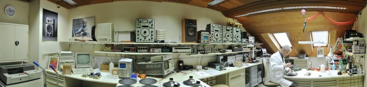 Laboratoire pour le développement, le montage et le contrôle des enceintes acoustiques Jean Maurer