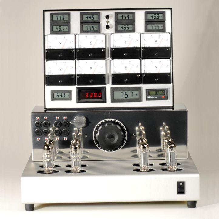 tubes audio banc calibrage EL84