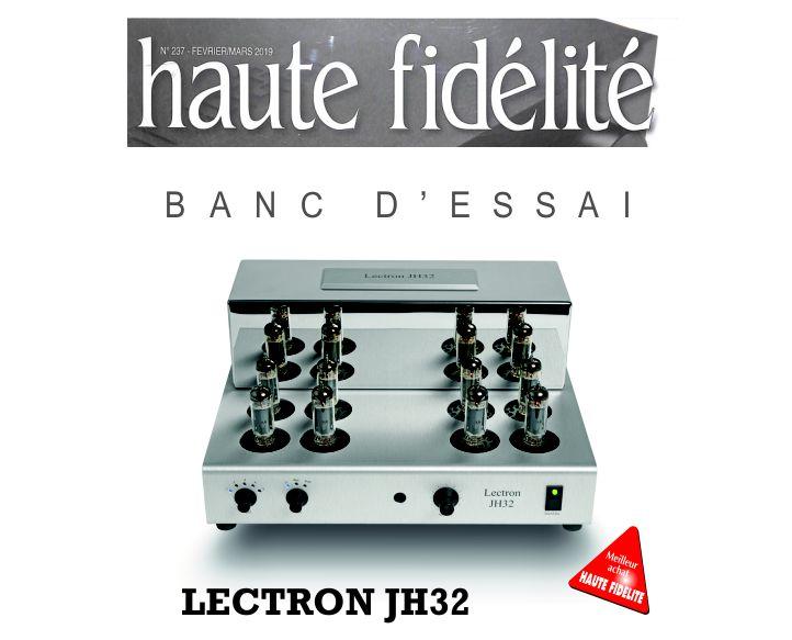 haute-fidélité magazine - banc d'essai JH32
